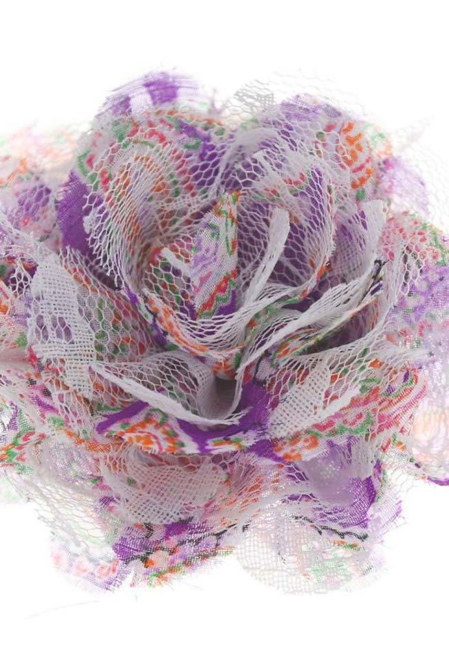 Mix de tecido: flora mais encorpada