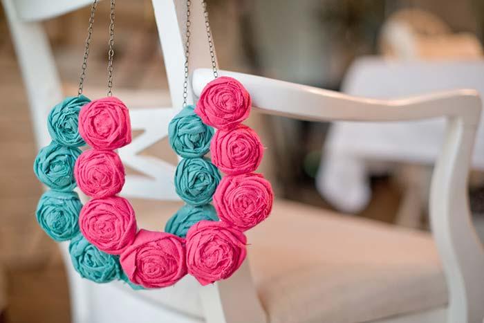 Flores de tecido: descubra 60 ideias criativas e saiba como fazer