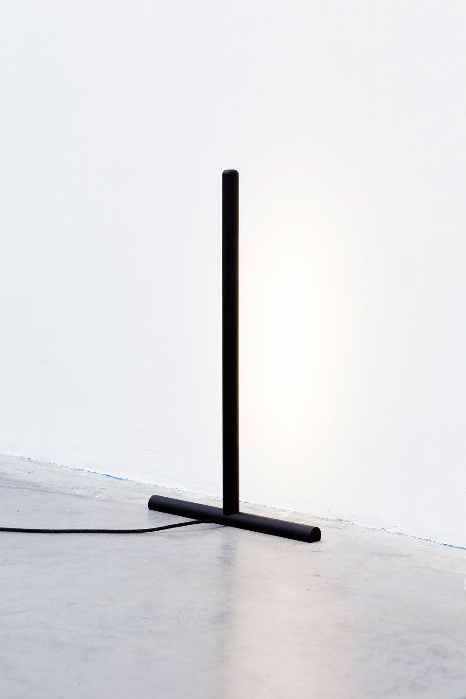 Luminária de PVC minimalista