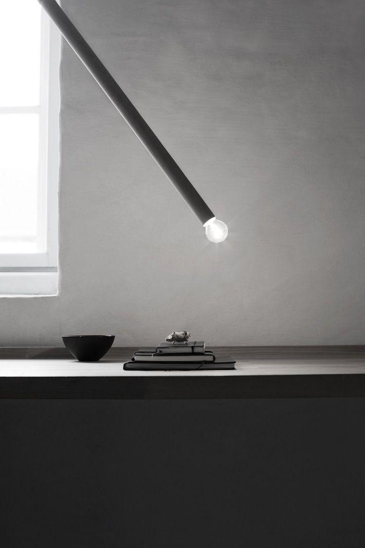 Luminária de PVC direcionada
