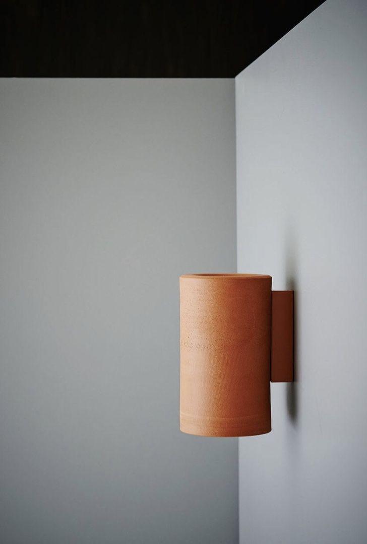 Luminária de PVC com pintura