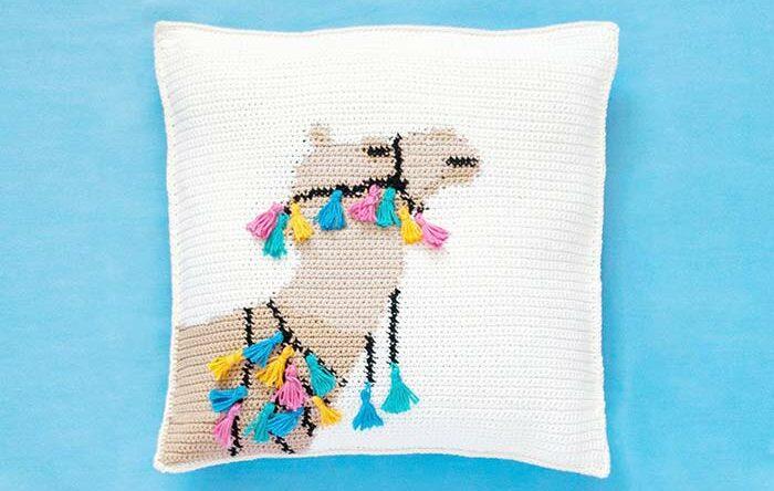 Capa de almofada de crochê: veja tutoriais e incríveis modelos