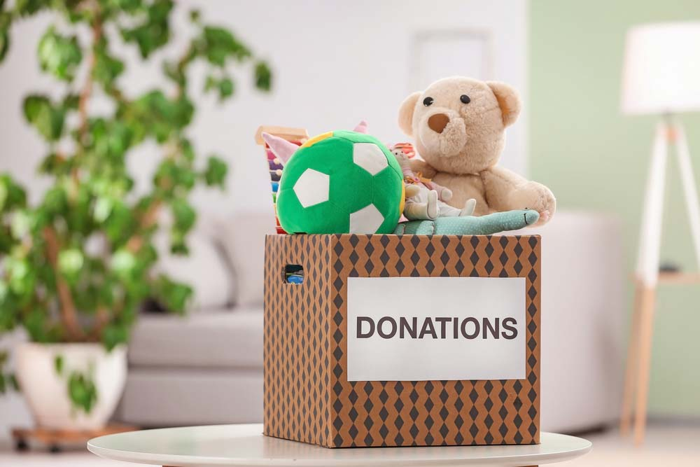 Doação de brinquedos