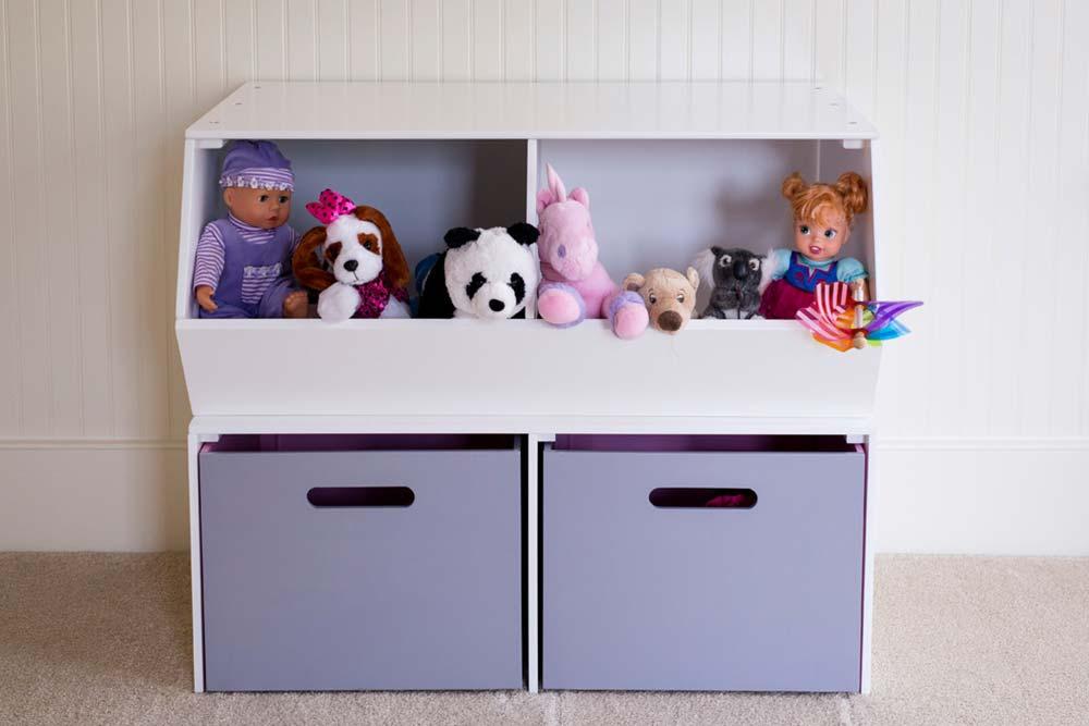 Brinquedos separados por categorias