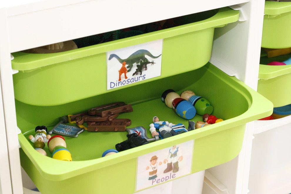 Etiquetas para organizar brinquedos