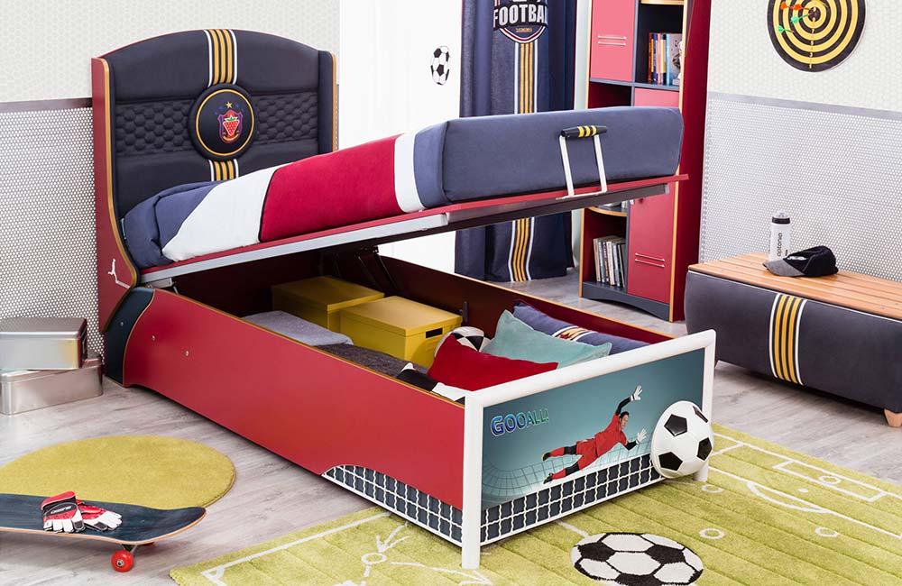 Brinquedos embaixo da cama