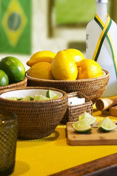 Limão siciliano e limão comum