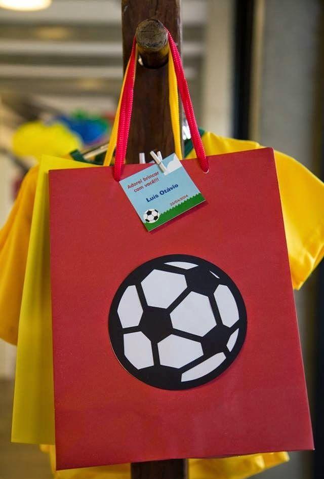 Lembrancinha para festa Copa do Mundo