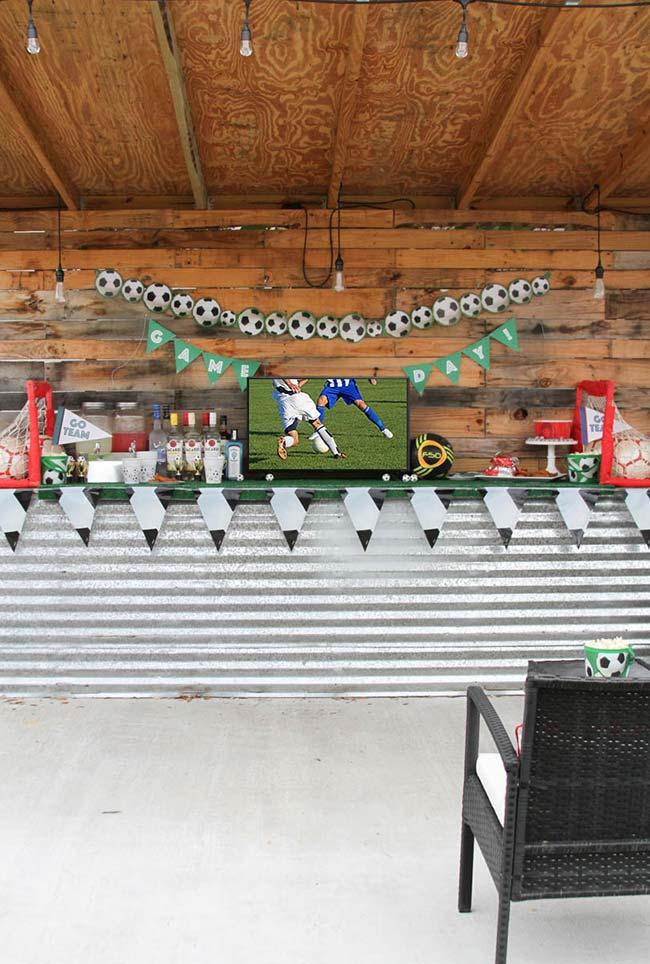Bar e futebol: uma dupla bem brasileira na decoração de Copa do Mundo