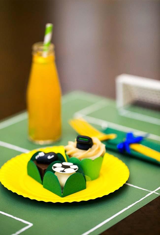 Sustentabilidade em verde e amarelo