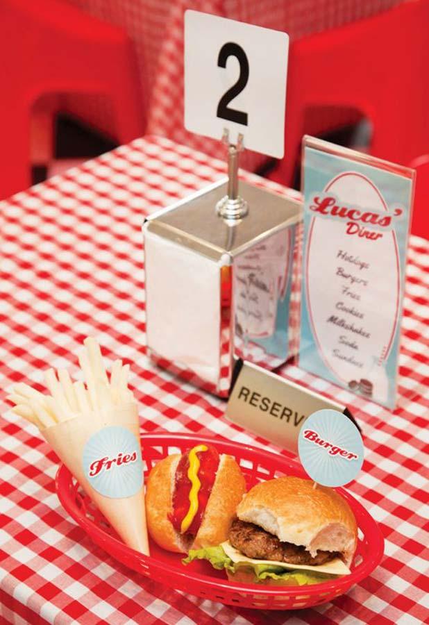 Festa fast food simples