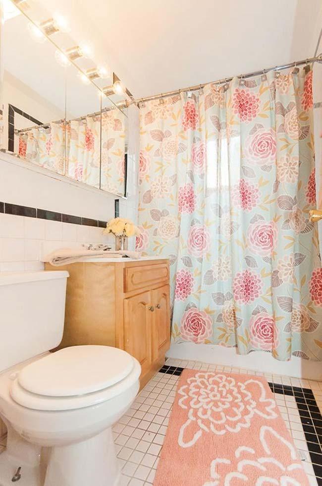 Jogo de banheiro: vá além dos tradicionais tapetinhos