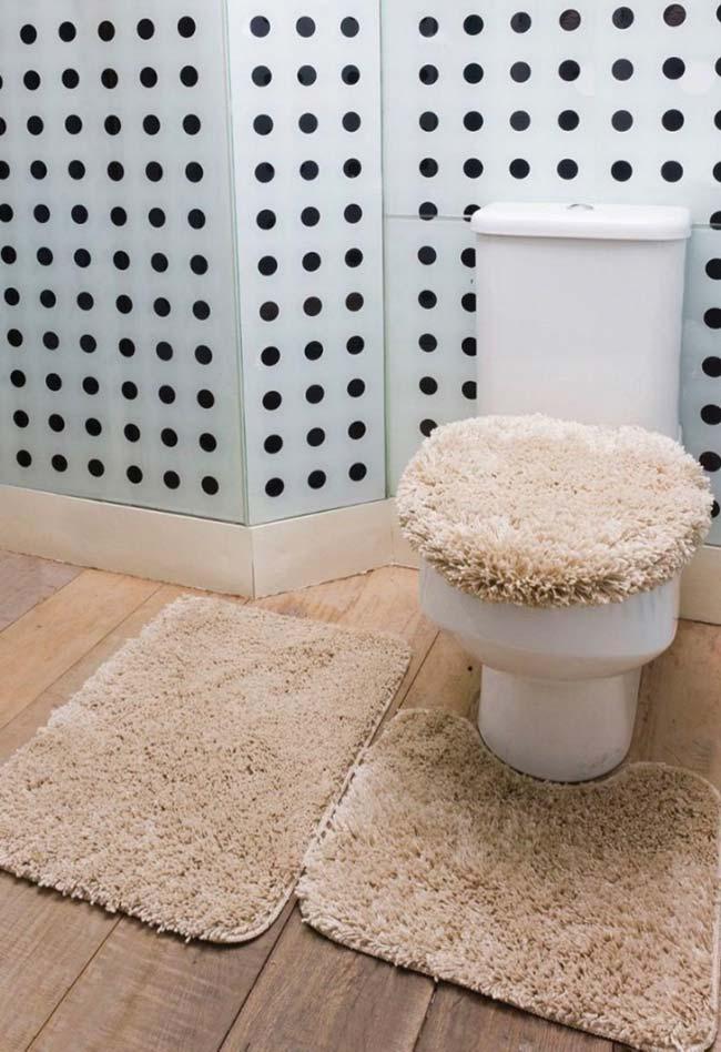 Jogo de banheiro aconchegante