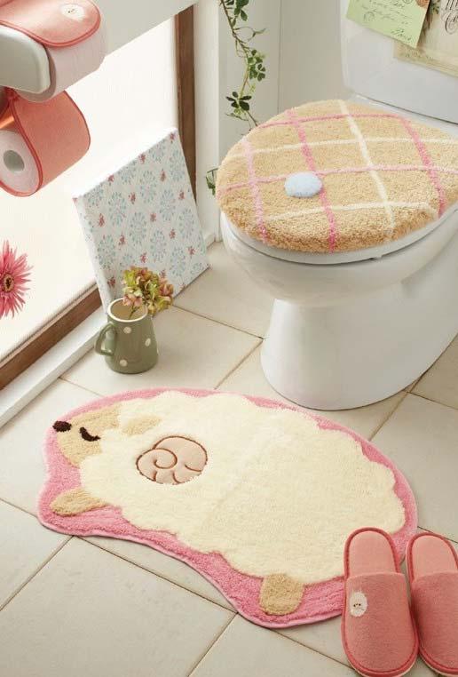Jogo de banheiro fofo