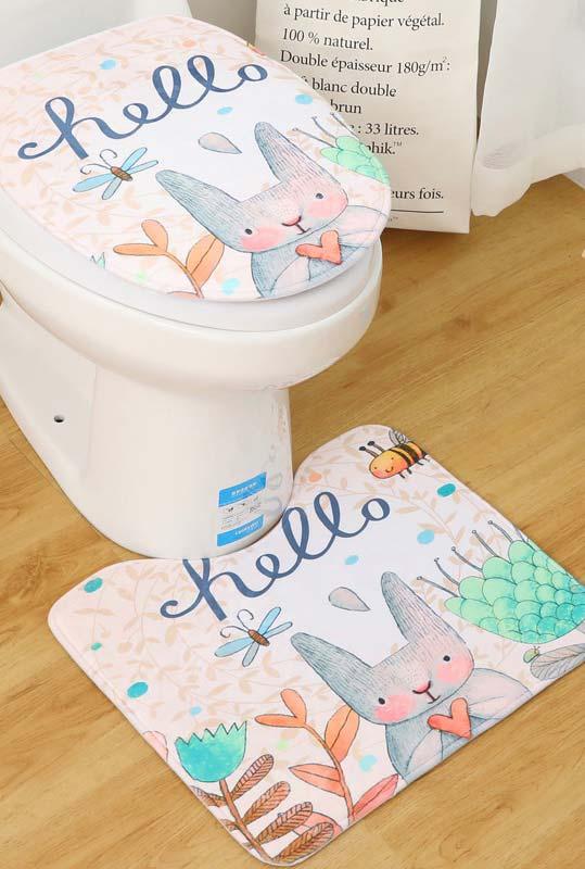 Traga alegria com o jogo de banheiro