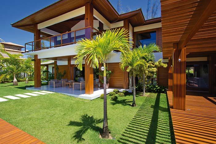 Palmeira em áreas externas