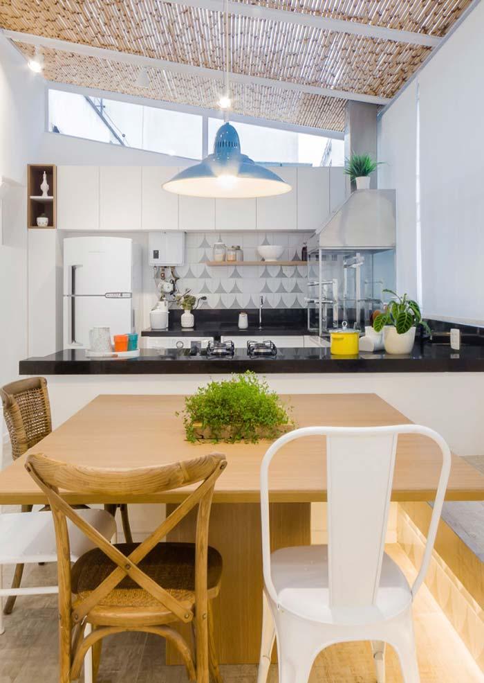 Valorize o preparo das refeições com um espaço gourmet