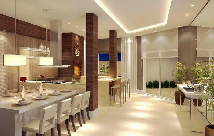Espaço gourmet: 60 ideias de decoração de espaços gourmet para se inspirar