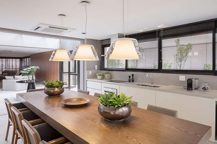 Um espaço para recepcionar com luxo e conforto