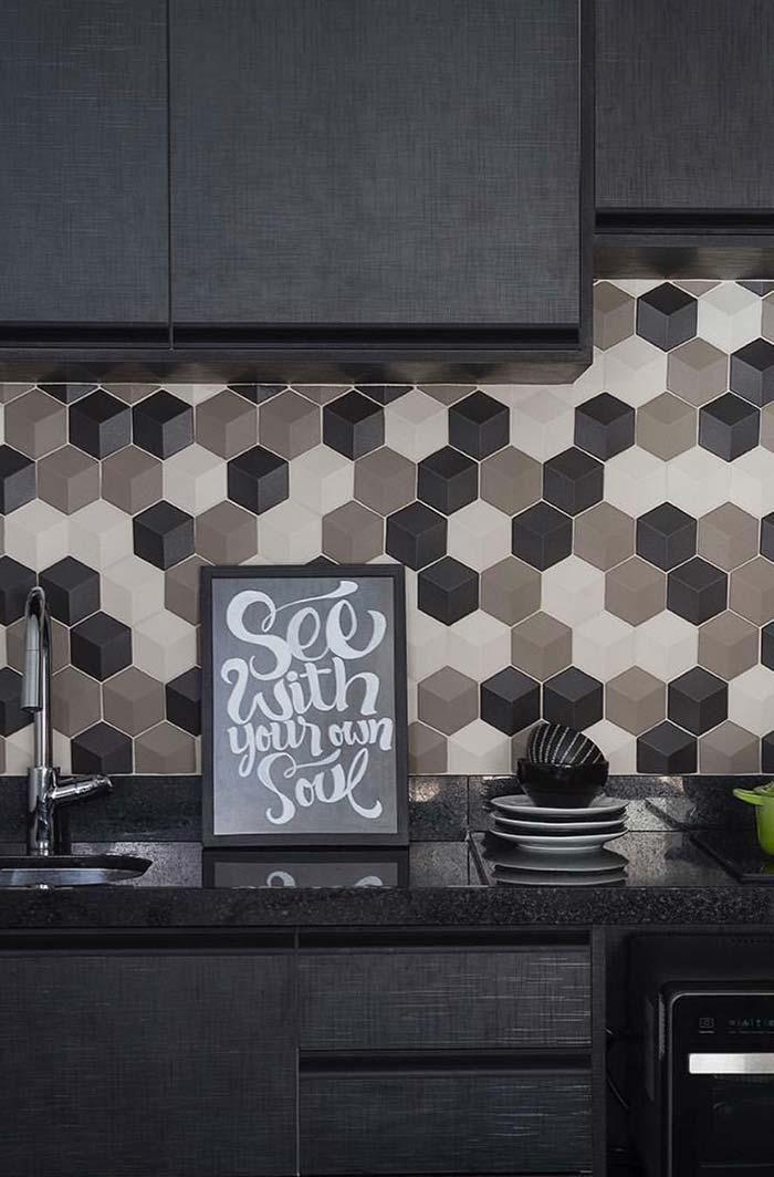 Projeto de cozinha uniforme com Granito Preto São Gabriel
