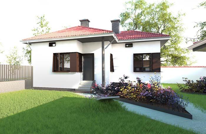 Modelo de casa pequena e simples