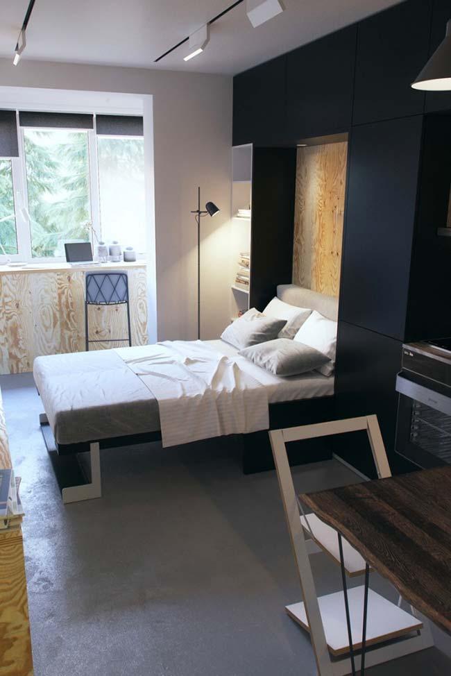 Casas pequenas com quarto pequeno