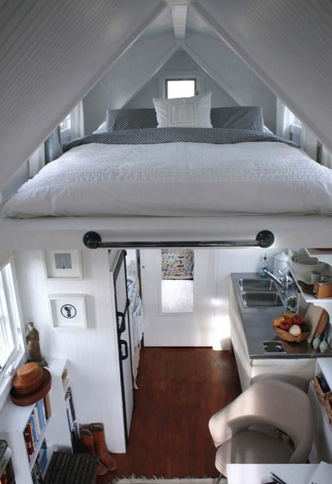 Casas pequenas: E um quarto assim? Topa?