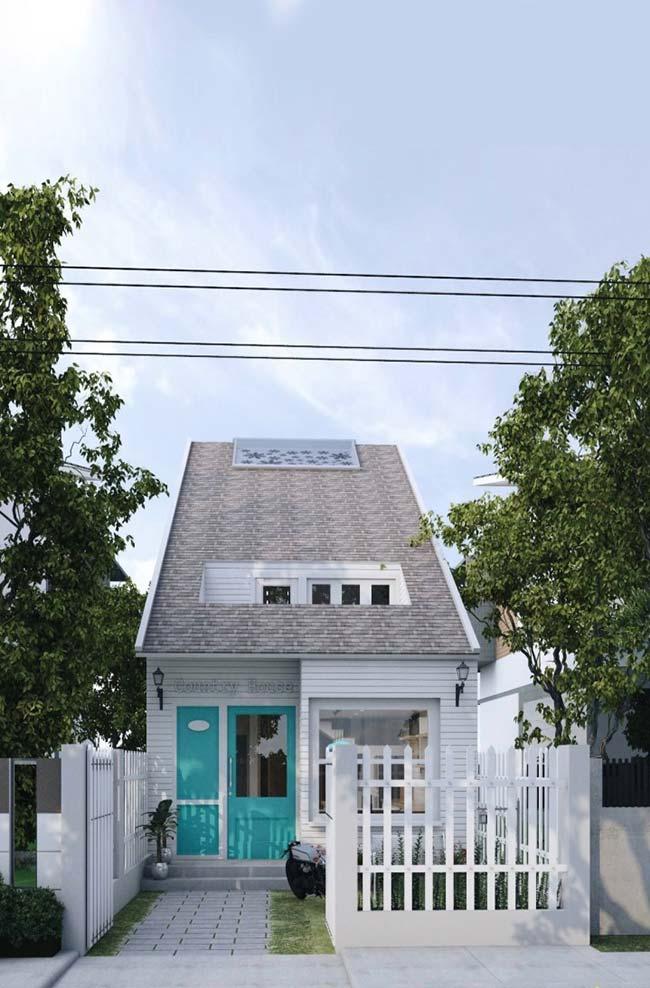 Telhado translúcido favorece a iluminação natural no interior da casa