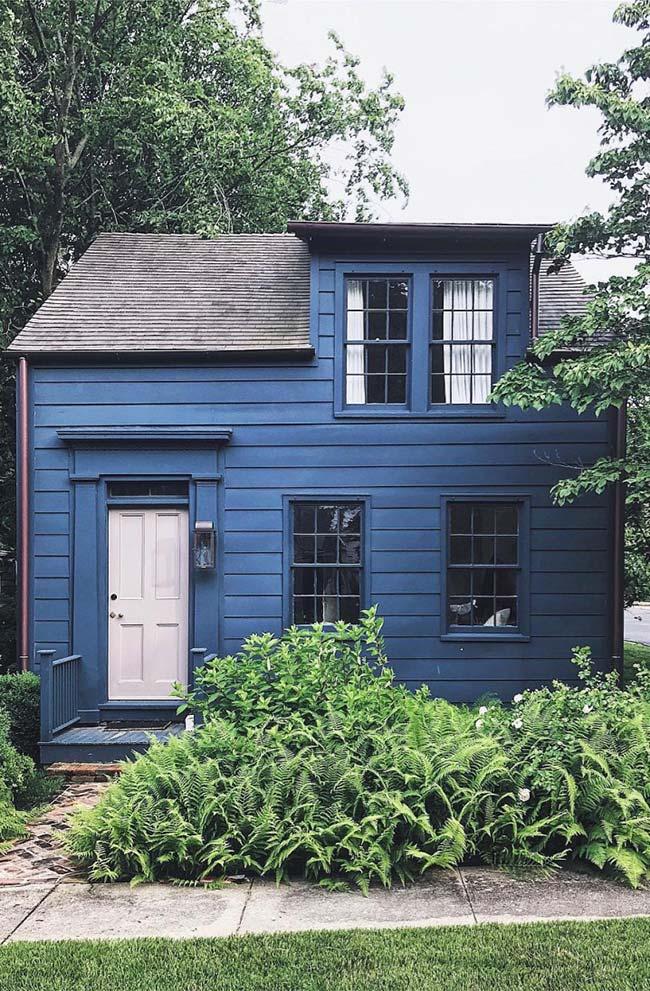Casa pequena e aconchegante