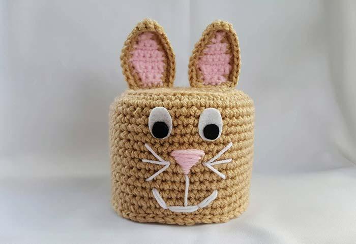 Porta papel higiênico de crochê: como fazer passo-a-passo e 59 ideias