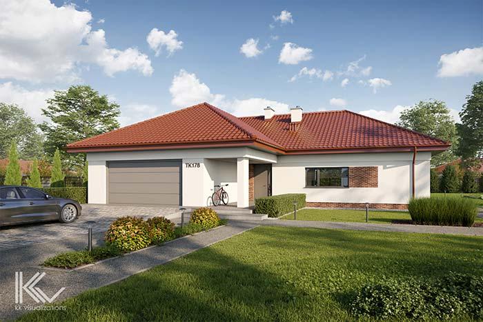 Telhado de PVC imitando com perfeição um telhado cerâmico