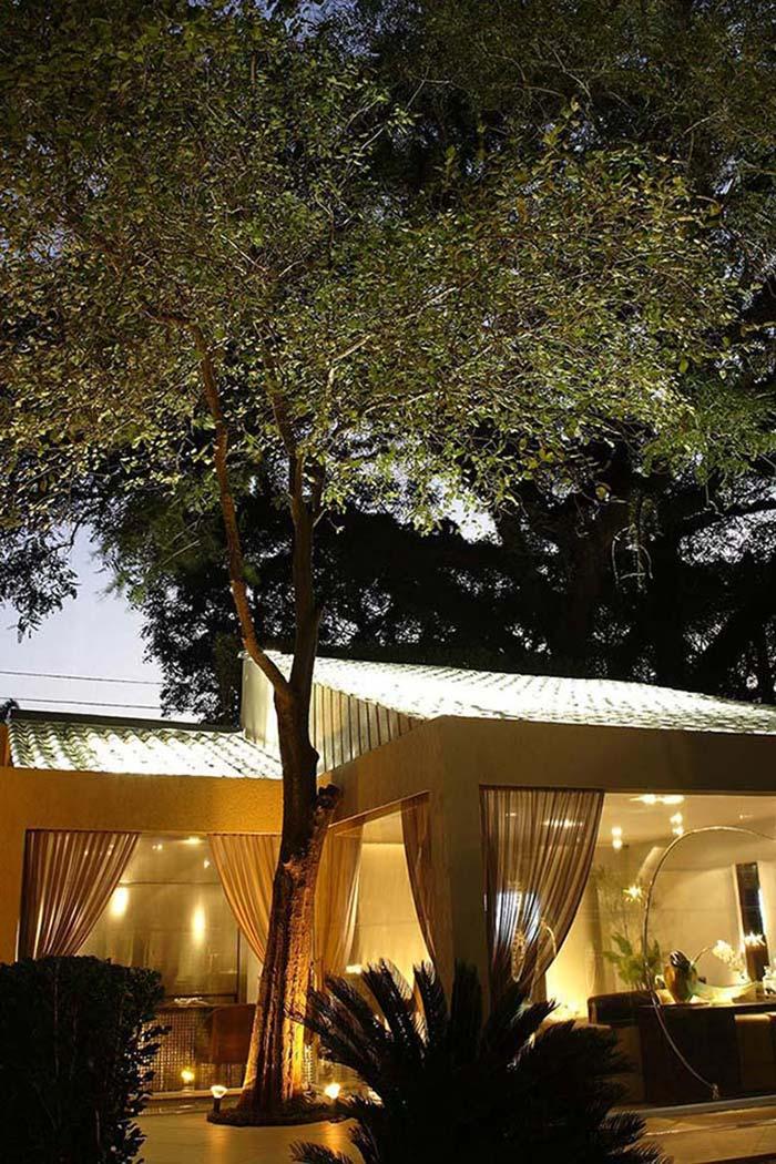 Casa de vidro: paredes e tetos construídos com o material