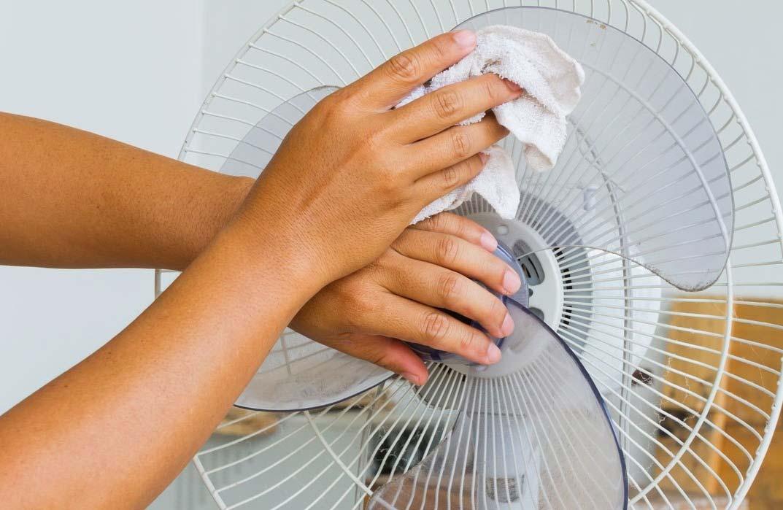 Desmontagem do ventilador