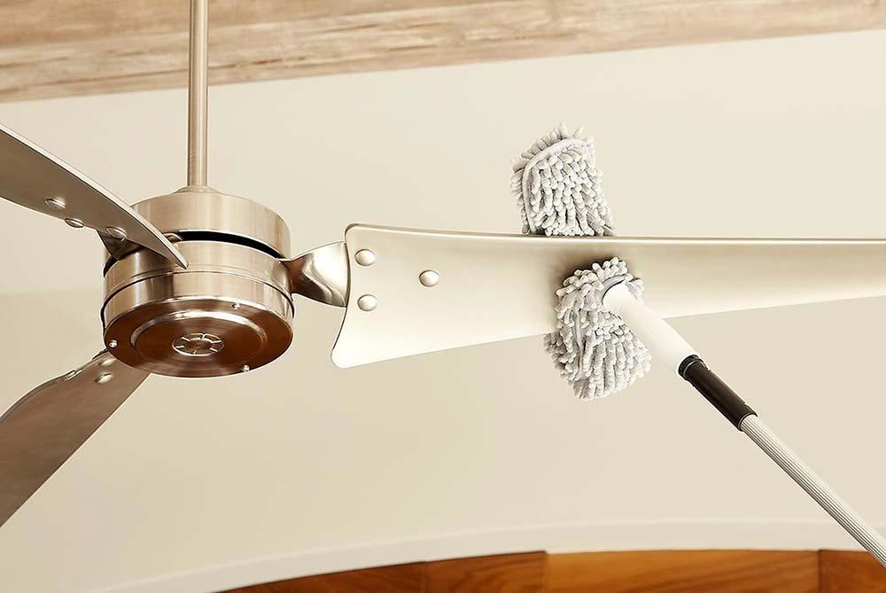 Lavar peças do ventilador