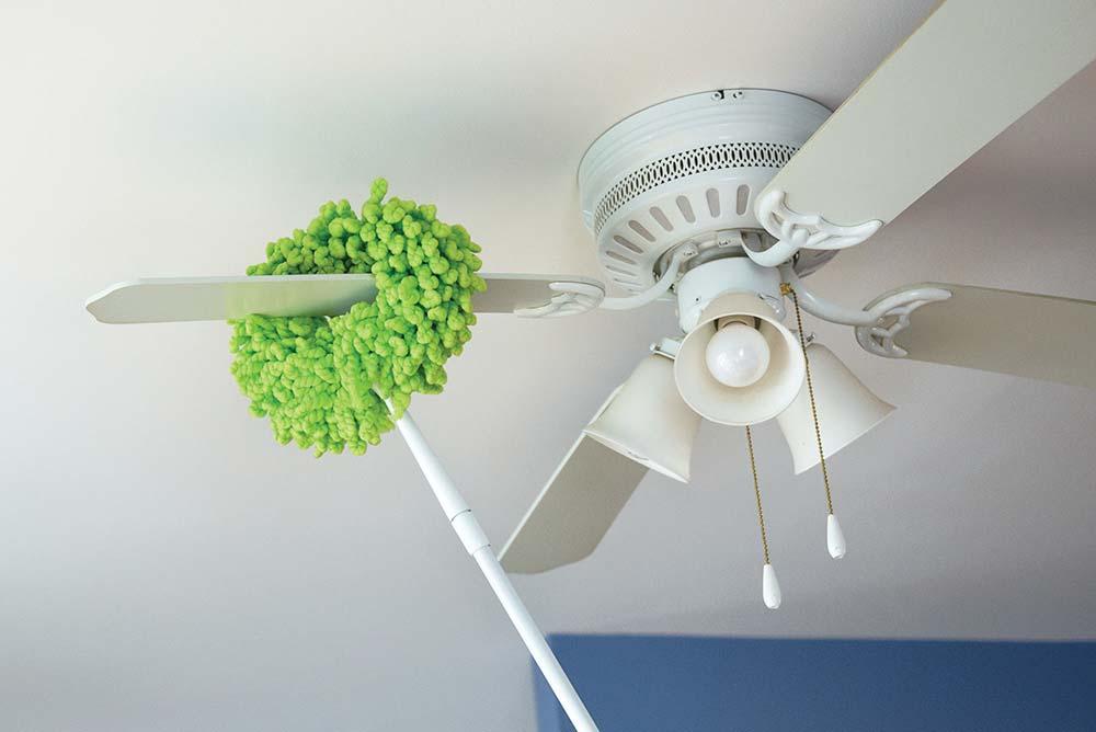 Secar peças do ventilador