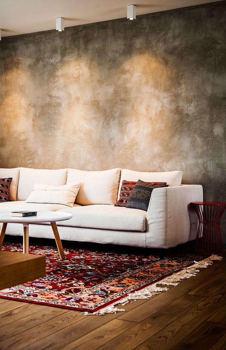 Textura de parede em marmorato