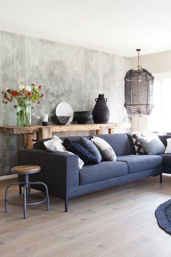Sala rústica, clássica e moderna com marmorato