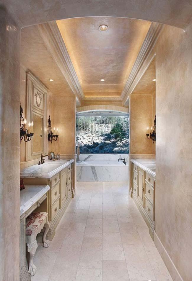 Arquitetura com marmorato