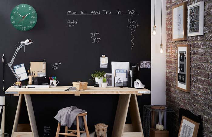 Caos organizado home office geek