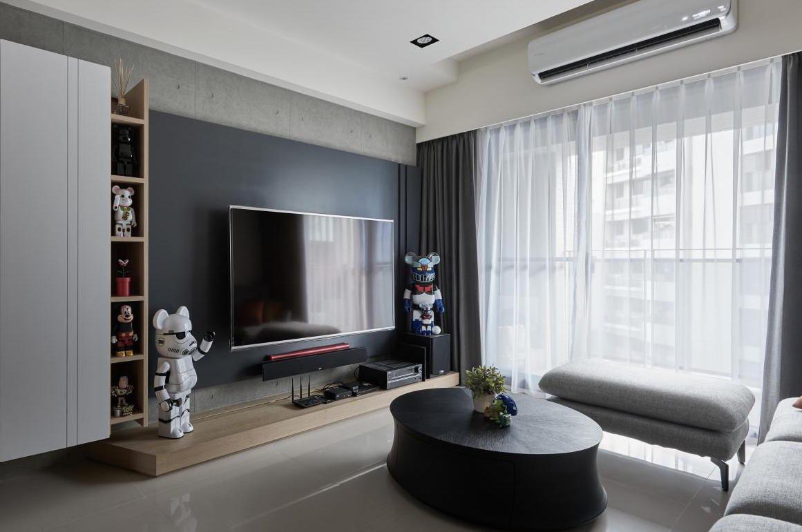 Preto branco e cinza na decoração geek