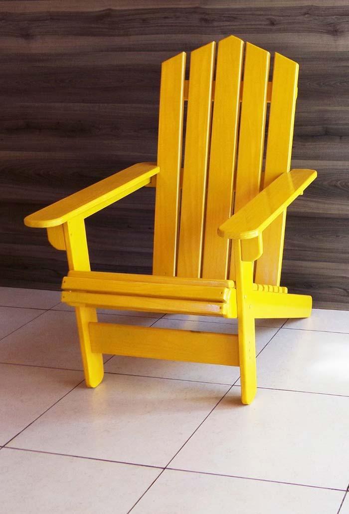 Amarelo vivo para alegrar o ambiente