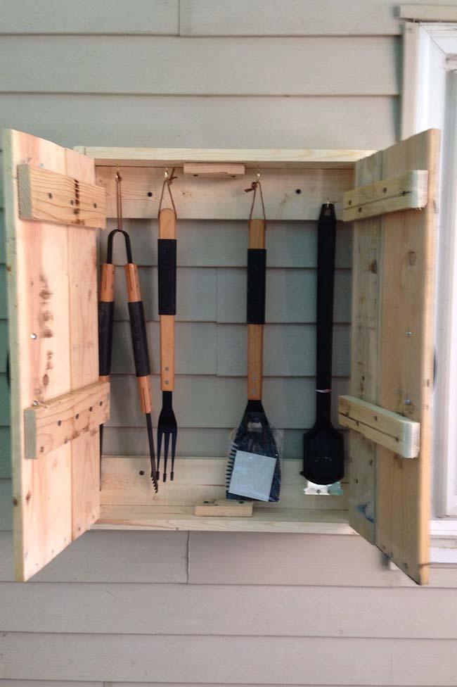 Armário de pallet: a solução que você precisa para manter suas ferramentas organizadas
