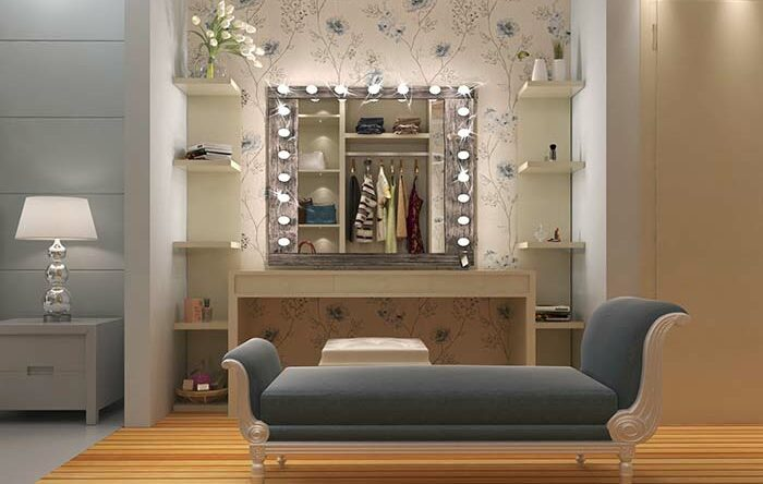 Penteadeira camarim: 60 modelos e ideias para incrementar a decoração
