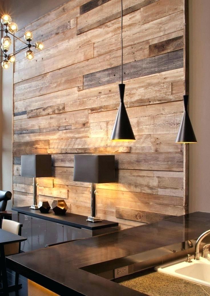 Decoração elegante com parede de pallet