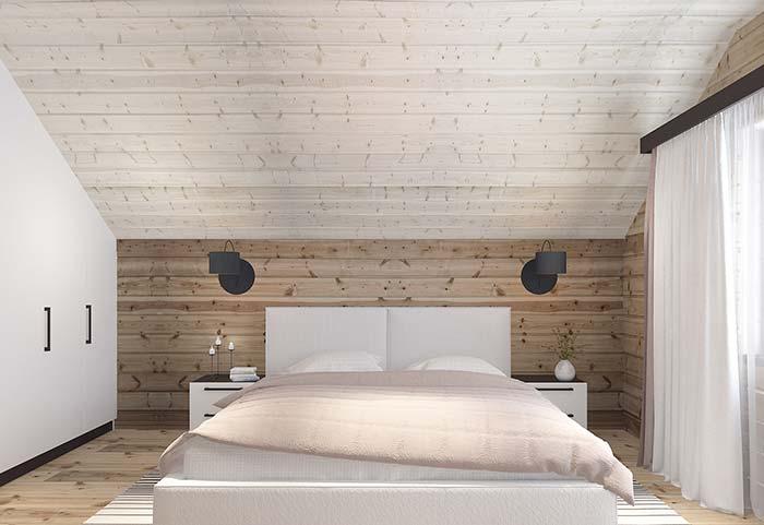 Piso, teto e paredes de pallet