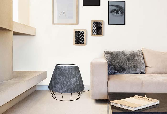 Abajur para sala baixo de chão rebate a luz para o teto