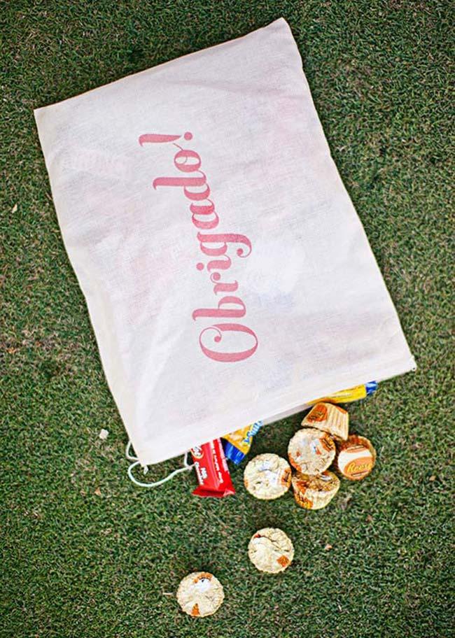 Bonbons variados como lembrancinha de 15 anos