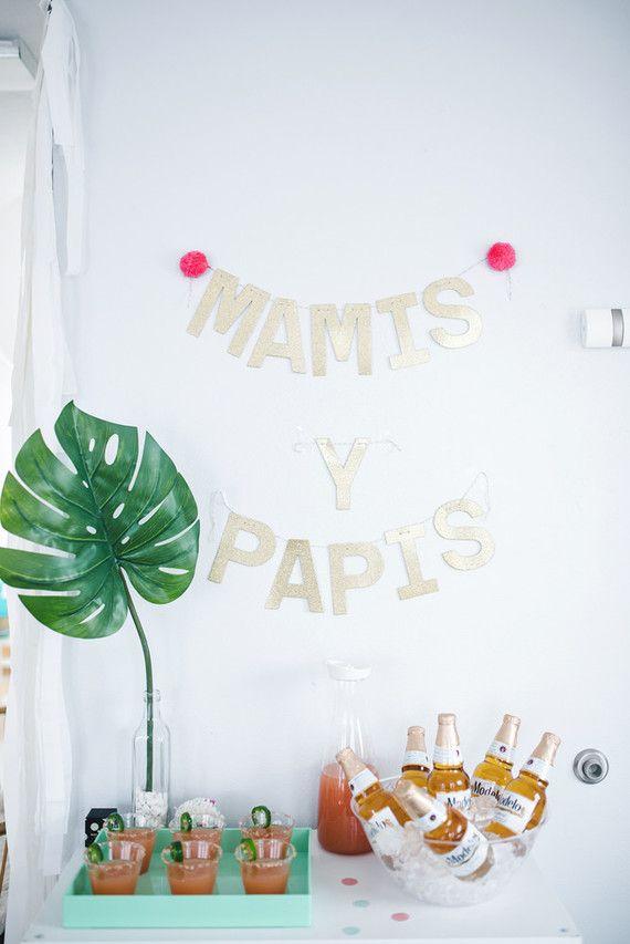 Costela de adão na decoração de mesversário de bebê