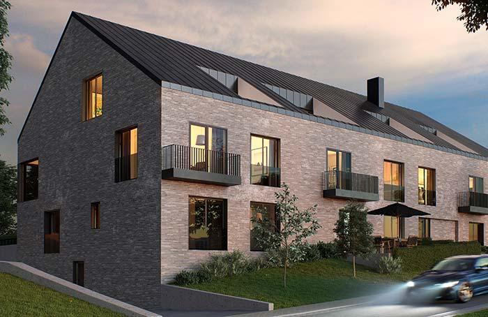 Casa grande com telha de zinco