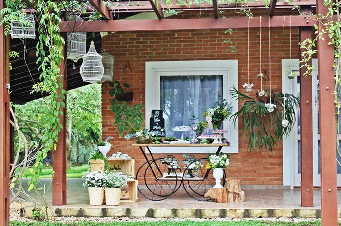Uma casa de chácara ou sitio é uma ótima pedida para um casamento acolhedor e intimista